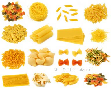 Different Types of Pasta Names