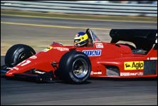 Ferrari Formula one racing car