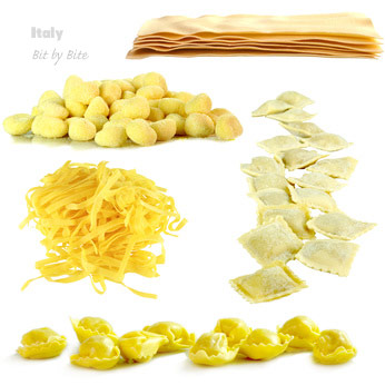 pasta types and shapes